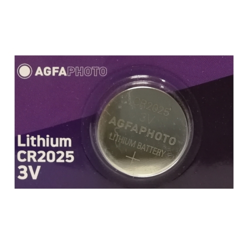 Agfa lithium gombelem CR 2025  ft /  db