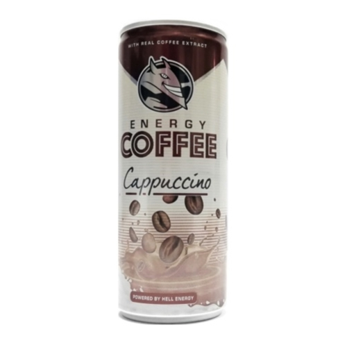 Hell coffee cappuccino 250 ml