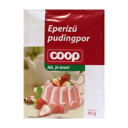 Coop eperízű pudingpor 40 g